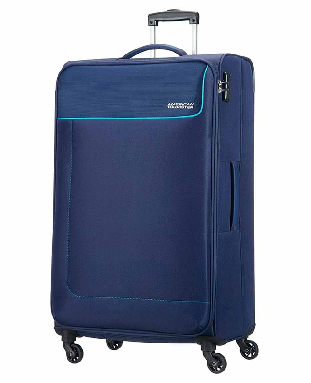 American Tourister Funshine Maleta grande Azul (Foto )