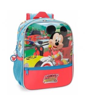 Disney Mickey Roadster Mochila preescolar Azul 0