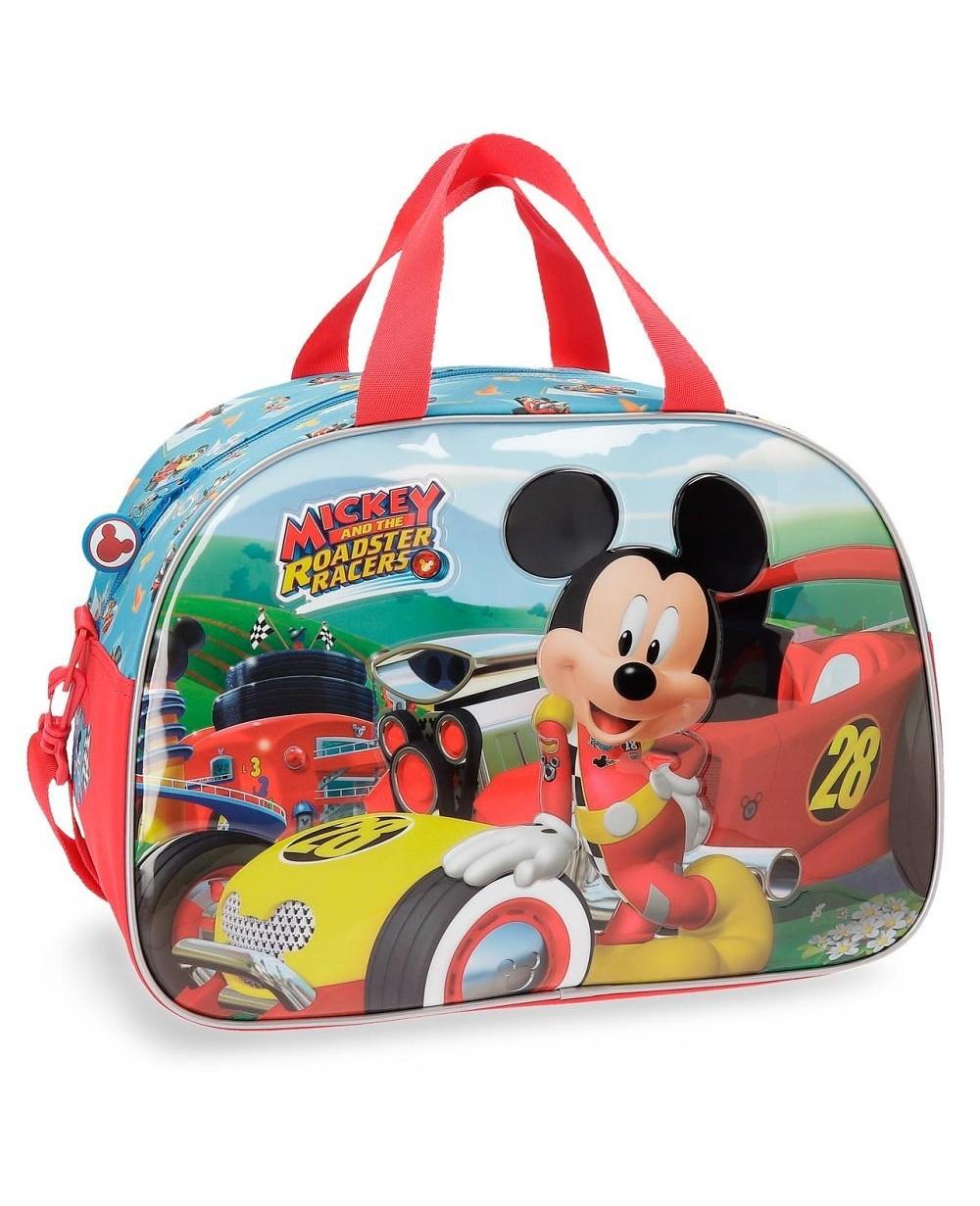Mickey Roadster Bolsa de viaje Azul (Foto )