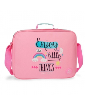 Carterón Roll Road Little Things Rosa - 38cm | Maletia.com
