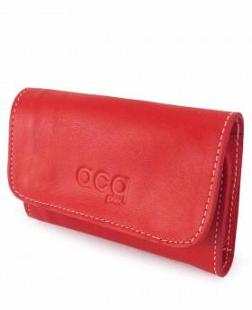Llavero de piel Acq Rojo - 10cm   Maletia.com