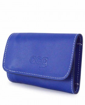 Llavero de piel Acq Azul - 10cm | Maletia.com