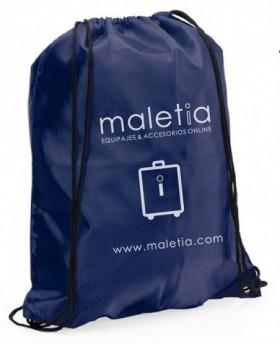 Gymsack Maletia - Azul Marino | Maletia