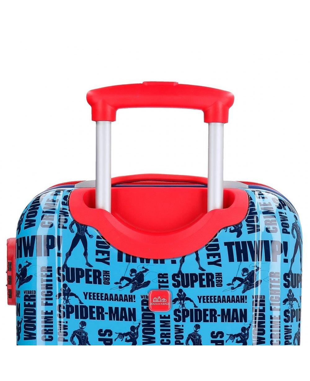 6da1f2940 Maleta de mano Marvel Spiderman Street Azul - 55cm | Maletia.com