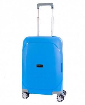 Maleta de mano Titto Bluni Insignia Azul Pacífico - 55cm | Maletia.com