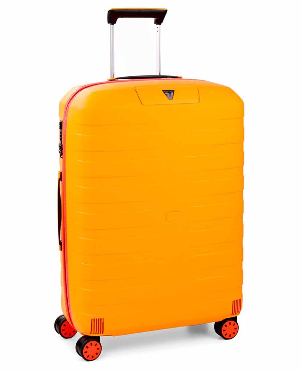 Roncato Box Young Maleta mediana Amarilla (Foto )