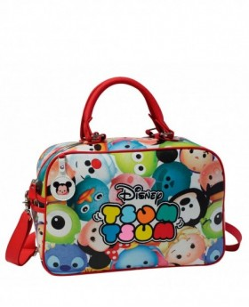 Disney Tsum Tsum Bolsa de Viaje Blanca