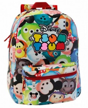 Disney Tsum Tsum mochila adaptable Blanca