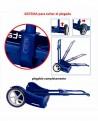 Safta Plataforma Universal Carro Azul Marino (Foto 4)