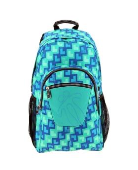 Totto Mochila escolar adaptable a carro Azul - 1