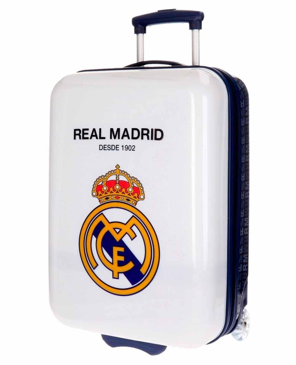 Real Madrid Hala Madrid Maleta de mano Blanca (Foto )