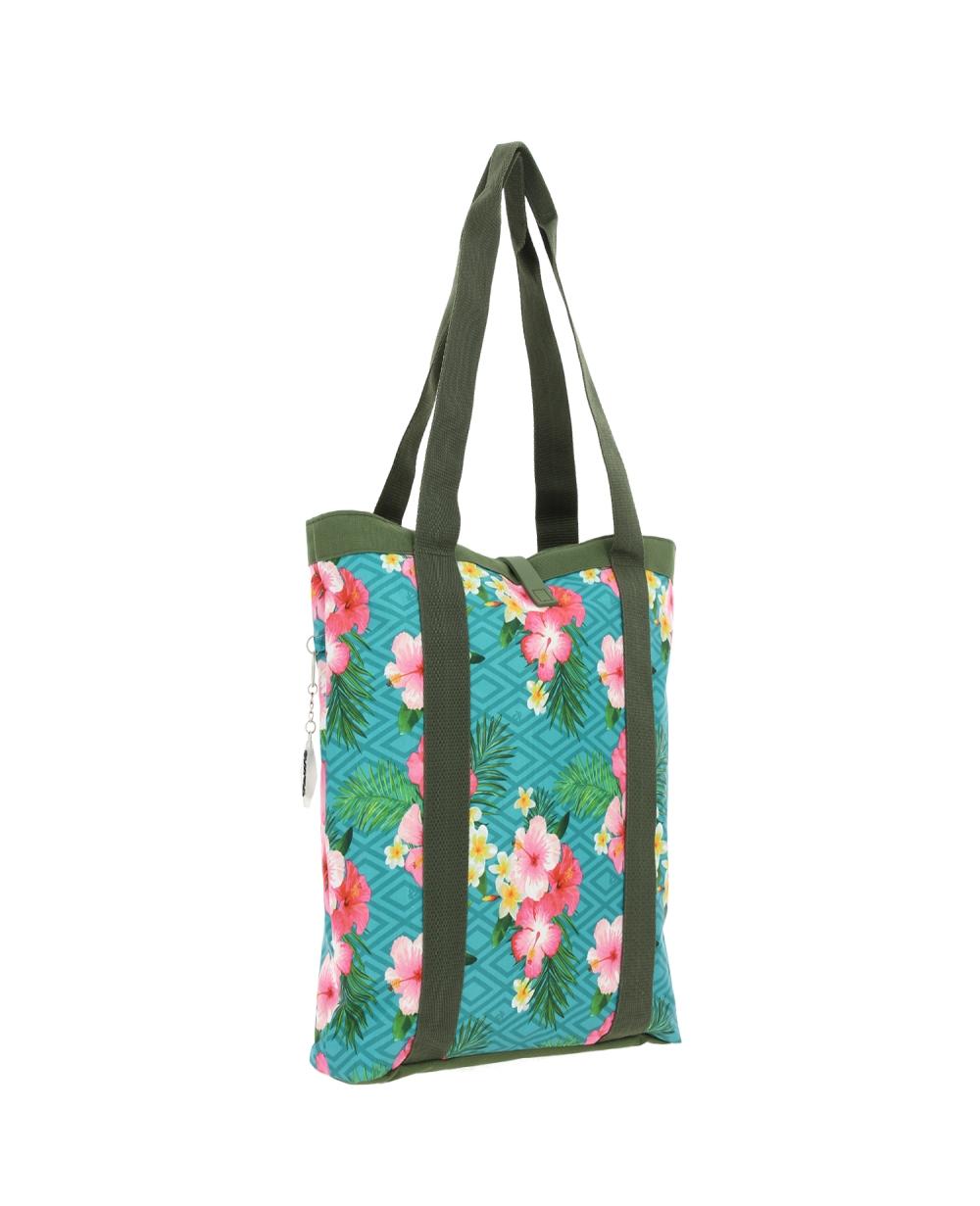 Totto Bolso shopper mujer Verde (Foto )
