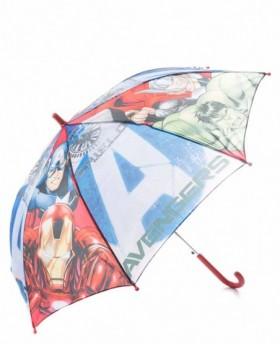 Paraguas Marvel Avengers Largo automático Rojo - 69cm | Maletia.com