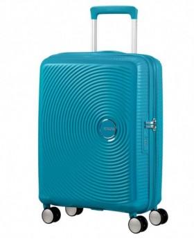 American Tourister Soundbox Maleta de mano Azul Pacífico 0