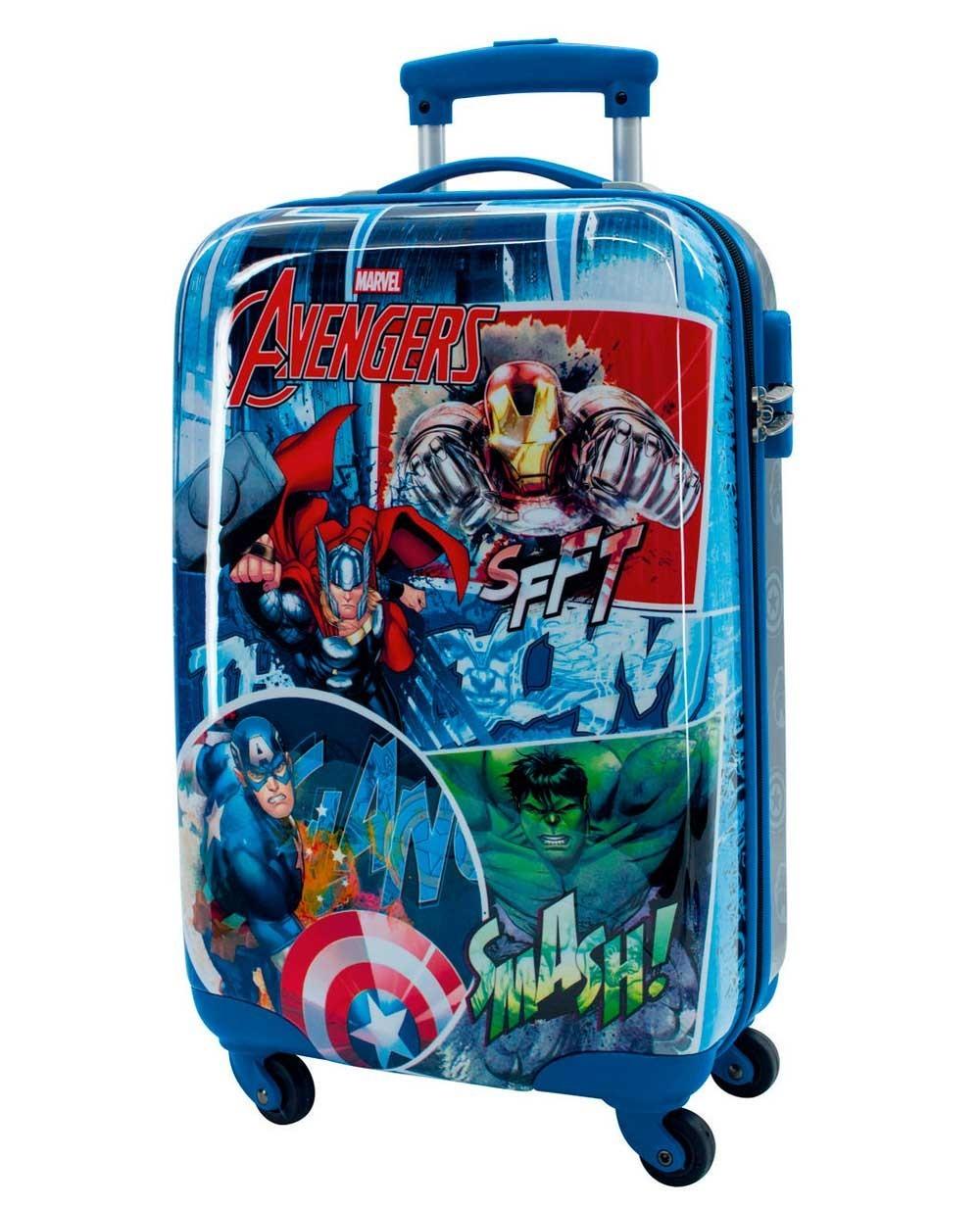 Marvel Avengers Street Maleta de mano Azul (Foto )