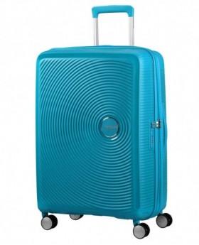 American Tourister Soundbox Maleta mediana Azul Pacífico 0