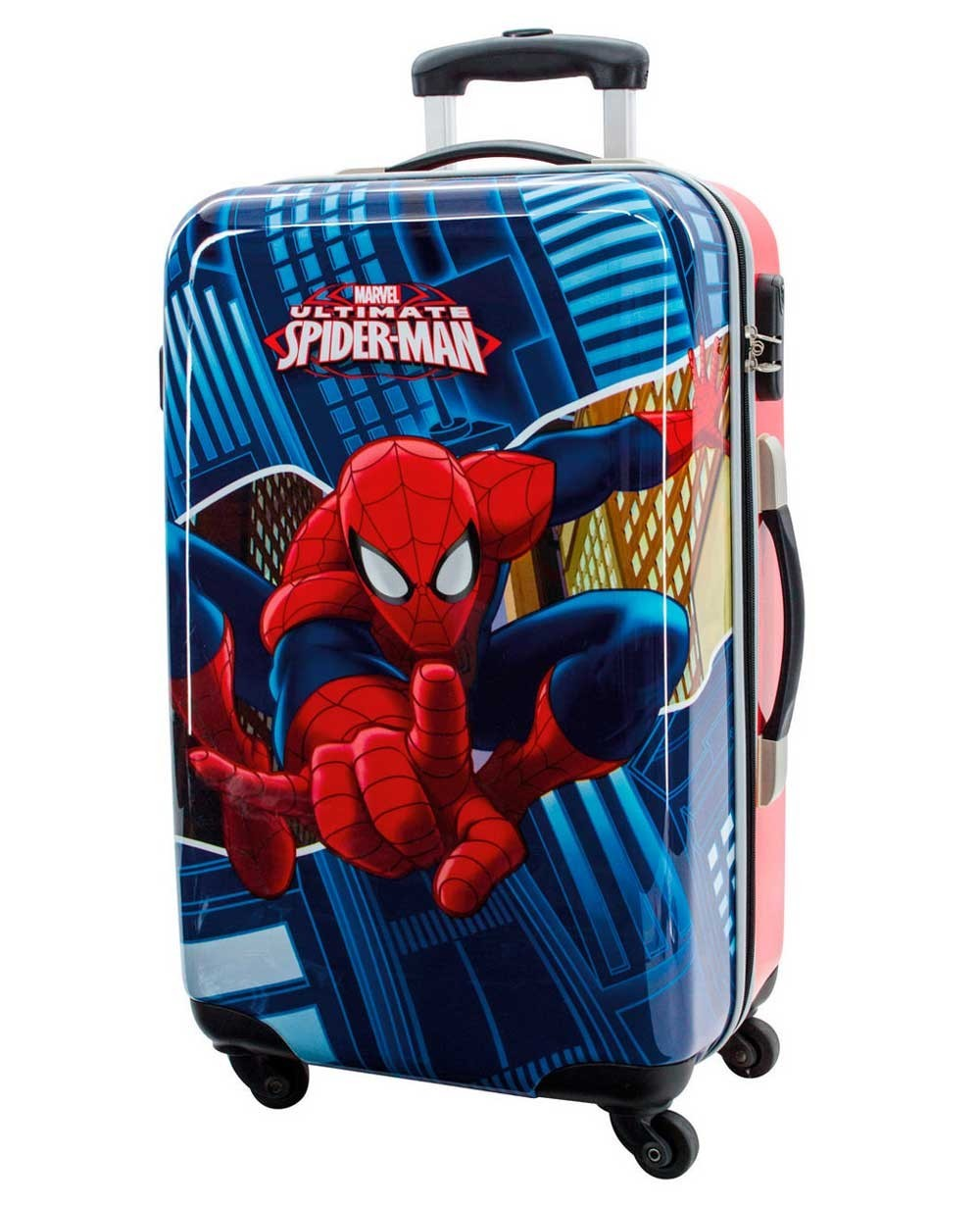 Marvel Spiderman Maleta mediana Azul (Foto )