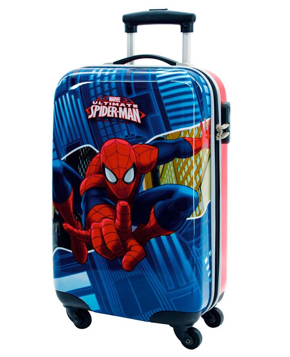 Marvel Spiderman Maleta de mano Azul
