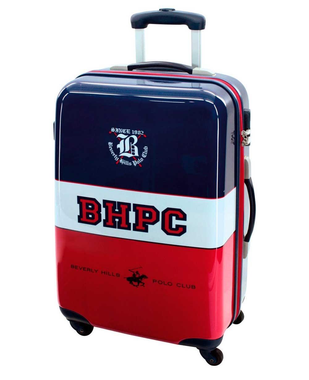 Beverly Hills Polo Club Tricolor Boy Maleta mediana Azul 0