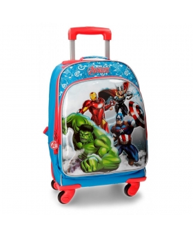 Vengadores Trolley convertible en mochila Los  Clouds Multicolor - 1