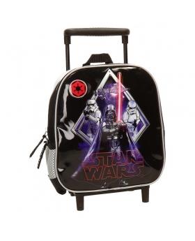 Star Wars Mochila Preescolar con Carro Darth Vader Negro - 1