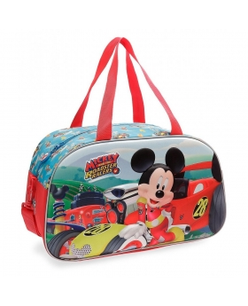 Mickey Mouse Bolsa de viaje Mickey Roadster Racers  frontal 3D Multicolor - 1