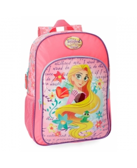 Princesas Mochila Rapunzel  adaptable a carro Multicolor - 1