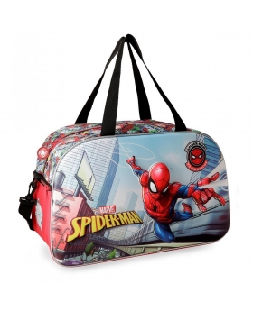 Spider-Man Bolsa de viaje Spiderman Grafiti 44cm frontal 3D Multicolor - 1