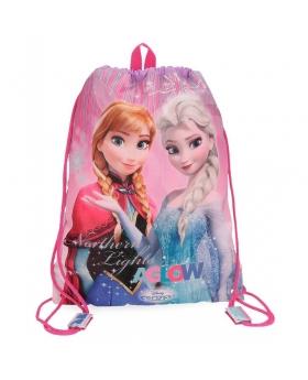 Frozen Mochila saco  Fantasy Rosa - 1