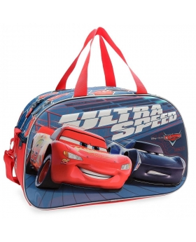 Bolsa de viaje  Ultra Speed  frontal 3D Cars Multicolor 45cm | Maletia.com
