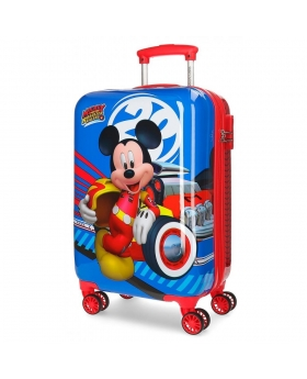 Maleta de cabina Mickey World rígida  Mickey Mouse Multicolor 55cm | Maletia.com