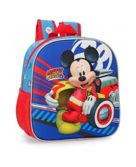 Mickey Mouse Mochila guardería frontal 3D World Mickey Multicolor - 1