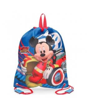 Minnie Mouse Bolsa de merienda World Mickey Multicolor - 1