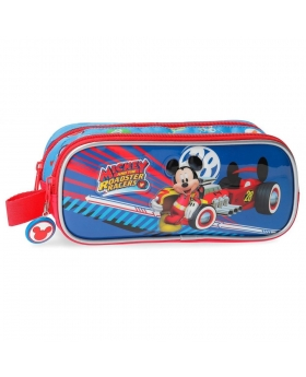 Mickey Mouse Estuche Mickey doble compartimento World Mickey Multicolor - 1