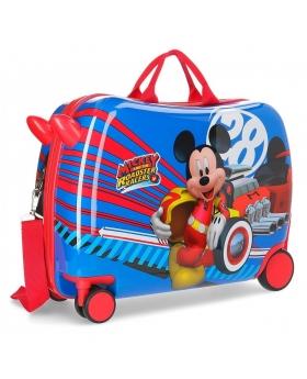 Mickey Mouse Maleta correpasillos ruedas multidireccionales World Mickey Multicolor - 1