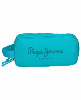 Pepe Jeans Plain Color Neceser Azul Pacífico 0