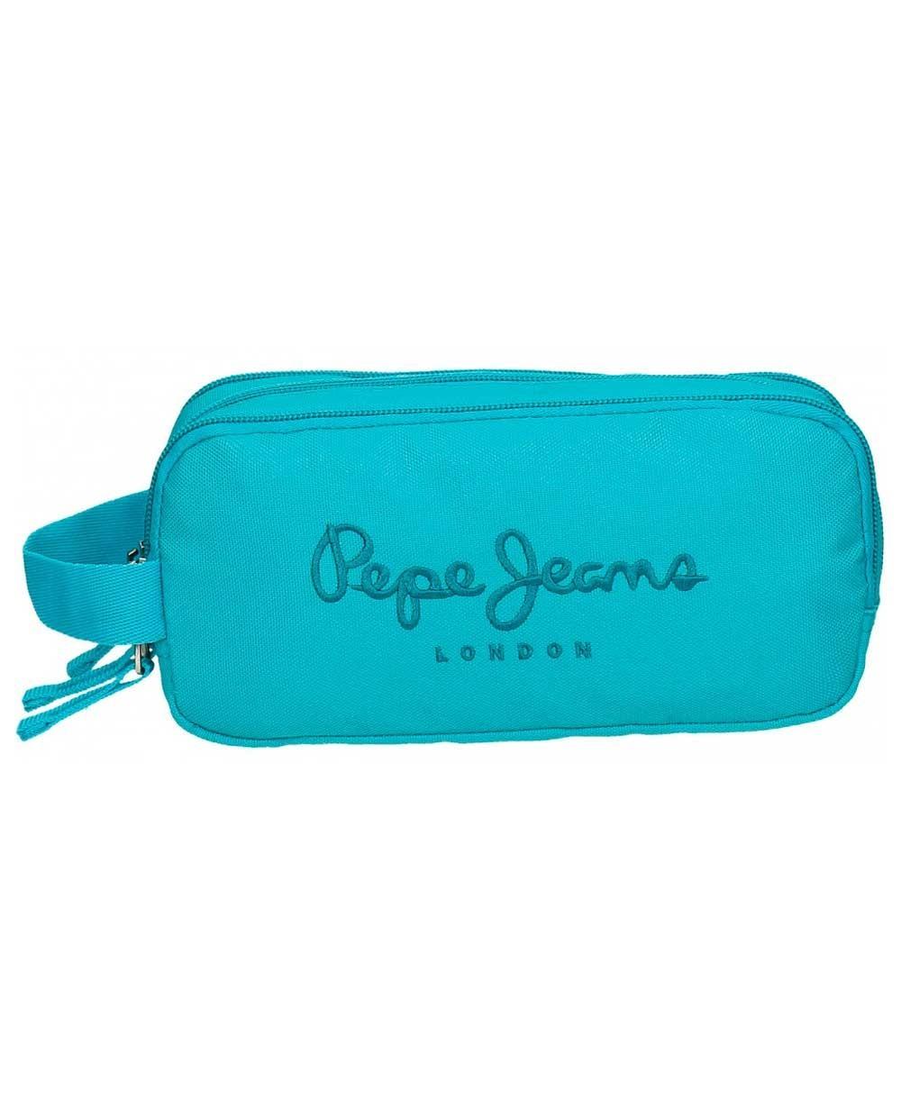 Excelente calidad venta barata ee. gran venta PEPE JEANS Plain Color Estuche Azul Pacífico