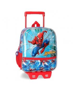Spider-Man Mochila  con carro Spiderman Street Multicolor - 1