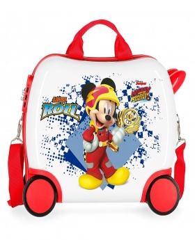 Mickey Mouse Maleta correpasillos pequeña Mickey Joy Multicolor - 1