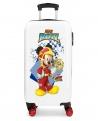 Mickey Mouse Maleta de cabina Mickey Joy rígida  Multicolor (Foto 4)