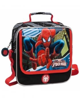 Spider-Man Neceser bandolera adaptable a trolley Spiderman Blue City Azul - 1