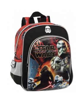 Star Wars Mochila preescolar bolsillo frontal  Battle Negro - 1