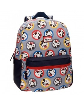 Mickey Mouse Mochila Mickey Circles Multicolor - 1