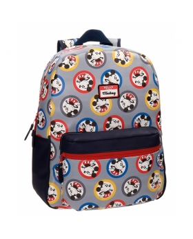 Mickey Mouse Mochila adaptable a carro Mickey Circles  - 1