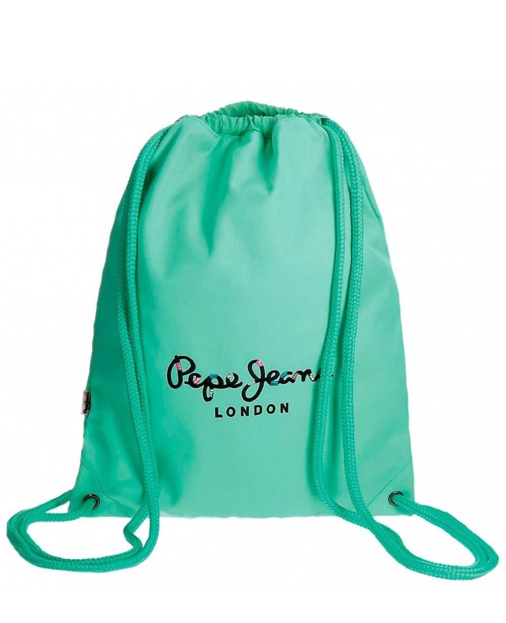 Pepe Jeans Harlow Gymsack Azul Pacífico (Foto )