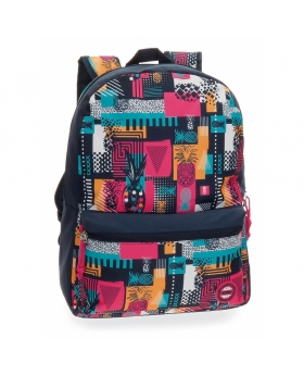 Mochila adaptable a carro  Pineapple  Movom Multicolor 42cm | Maletia.com