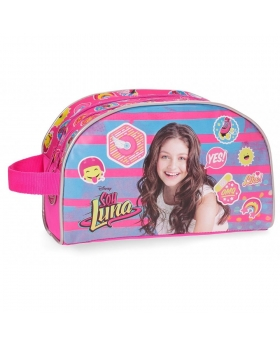 Soy Luna Neceser doble compartimento adaptable a trolley Yo soy Luna Rosa - 1