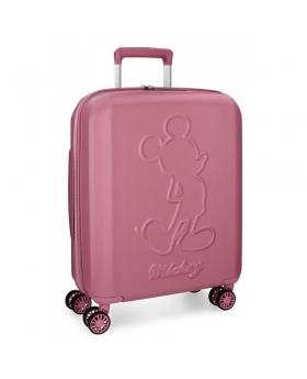 Mickey Mouse Maleta de cabina Mickey Premium rígida  rosa Rosa - 1