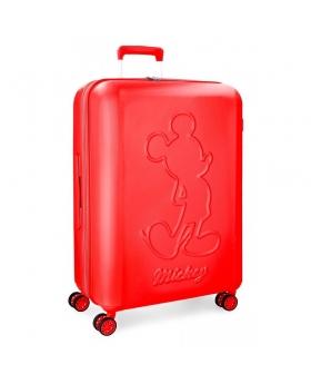 Mickey Mouse Maleta grande Mickey Premium rígida  roja Rojo - 1