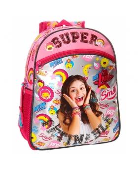 Soy Luna Mochila preescolar adaptable a carro  Smile Multicolor - 1
